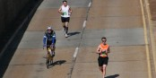 Running better than cycling for long-term bone health