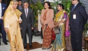 Prime Minister Sheikh Hasina returns home from Munich