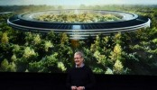 Apple 'spaceship' headquarters readies for boarding