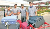 Team Tigers leave home for Sri Lanka tour